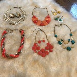 Francesca's Collection Costume Jewelry Bundle